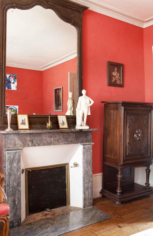 Chambre Rouge | Château des Lutz
